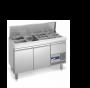 Polaris Saladette: tavolo saladette refrigerato professionale - Thumbnail